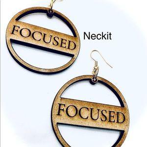 Focusrd Engraved Earrings
